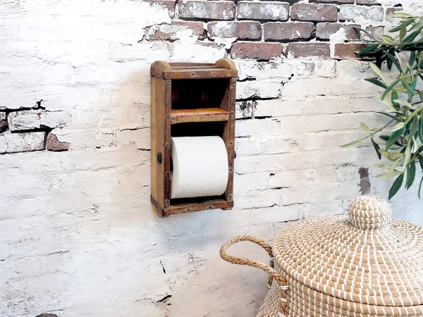 toiletrulleholder chic antique