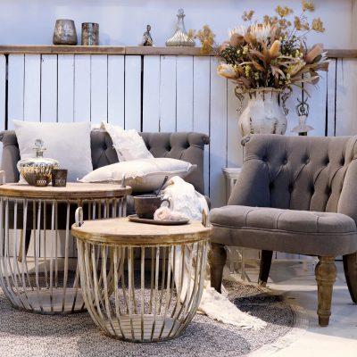 sofabord trælåg chic antique